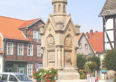 Heye Brunnen Obernkirchen (nach Fertigstellung)