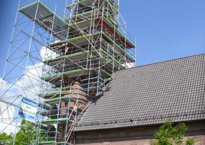 Kirchturm - & Kirchenschiffsanierung der Kirche Vorwohle