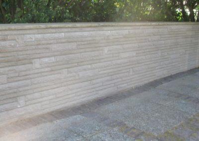 Restaurierungs- & Mauerarbeiten Friedhofsmauer Obernkirchen