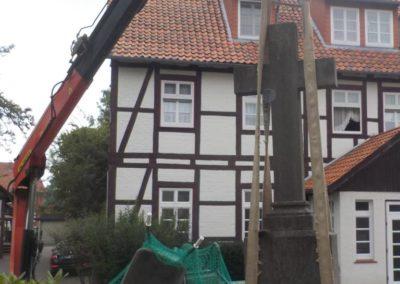 Restaurierungsarbeiten Kirche Fuhlen