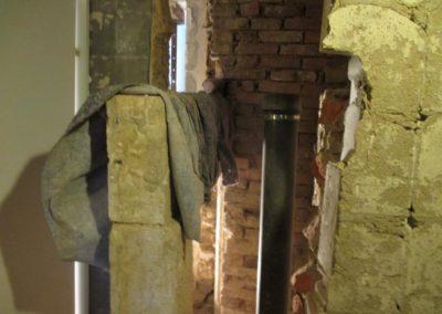 Vorzustand - Restaurierungsarbeiten Schloss von Hammerstein / Goslar