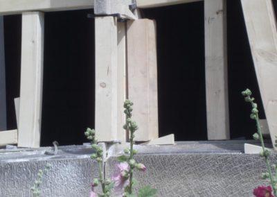 Restaurierungsarbeiten Kirche Peetzen