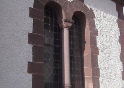 Nach der Fertigstellung - Restaurierungsarbeiten Kirche Holzminden