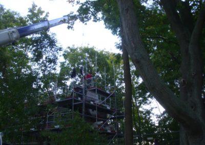 Restaurierungsarbeiten Altes Wasserwerk Bückeburg