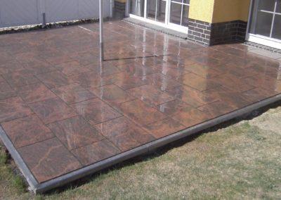 Terrassenbelag aus Granit