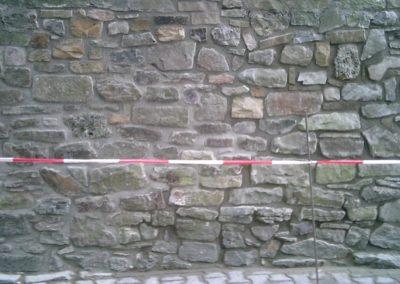 Nach der Fertigstellung - Restaurierungsarbeiten Sparkasse Rinteln