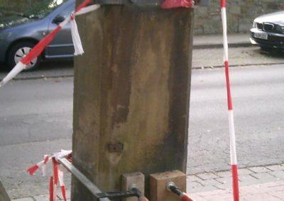Pfeilerrestaurierungsarbeiten Kloster Barsinghausen