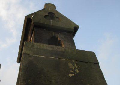 Restaurierungsarbeiten Kirche Vehlen