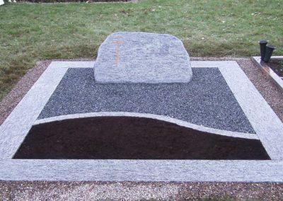 Doppelgräber Granit 0032