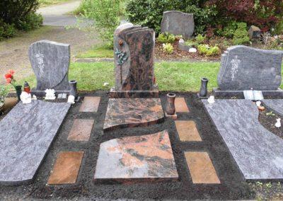 Einzelgräber Granit 0030