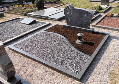 Doppelgräber Granit 0038