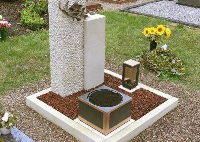 Urnengräber Sandstein